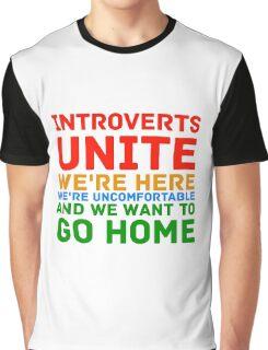 Introverts Unite Graphic T-Shirt