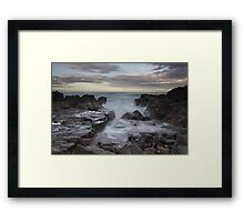 greyhope bay Framed Print