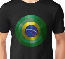 CAPTAIN BRAZIL - Captain America inspired Brazilian shield Unisex T-Shirt