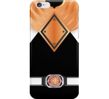 MMPR Armoured Black Ranger Phone Case iPhone Case/Skin