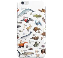 A to Z of Amazing Animals iPhone Case/Skin