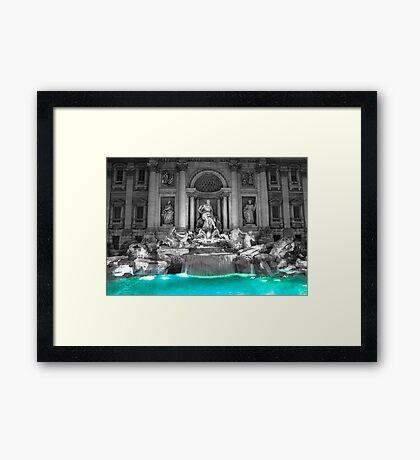 Trevi's Fountain // Rome Framed Print