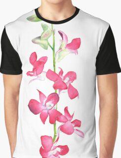 Singapore Orchids 2 Graphic T-Shirt