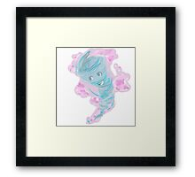 Tornado-chan -- TRC Framed Print