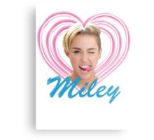 Miley Metal Print