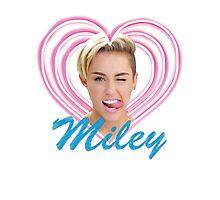 Miley Photographic Print