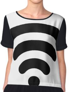 Wi-Fi Abstract Chiffon Top