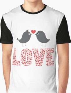 forever of love from bird Graphic T-Shirt