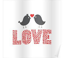 forever of love from bird Poster