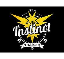 Team Instinct - Pokemon Go Photographic Print