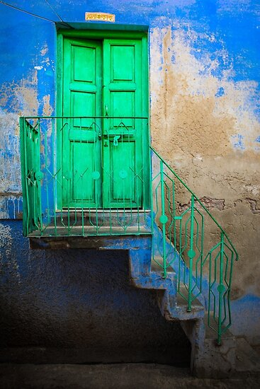 Blue and Green by Jill Fisher
