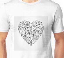 Musical heart2 Unisex T-Shirt