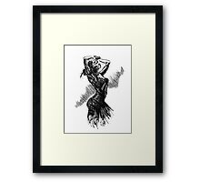 """Dancer"" Framed Print"