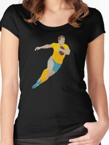 SUMMER GAMES / Rugby Women's Fitted Scoop T-Shirt