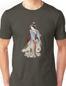 Geisha of Wolves Unisex T-Shirt