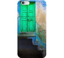 Blue and Green iPhone Case/Skin