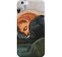 Dana Scully missing Fox Mulder iPhone Case/Skin