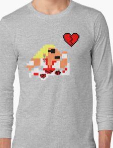 8-Bit Heartbreaker Long Sleeve T-Shirt