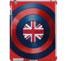 CAPTAIN BRITAIN - Captain America inspired British shield iPad Case/Skin