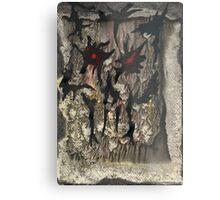 Muddy Grey Metal Print