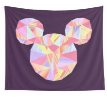 Sunset Pop Crystal Wall Tapestry