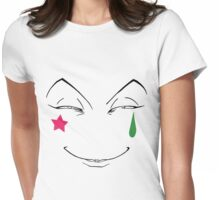 Hisoka smile Womens Fitted T-Shirt