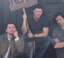 Jensen, Jared and misha  Sticker