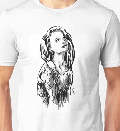 Brush Pose Unisex T-Shirt