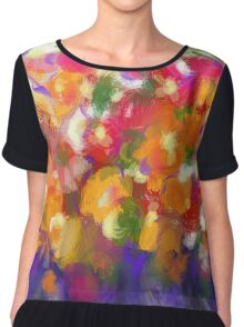 Flower Froth Chiffon Top