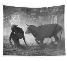 0102 Caught Unawares Wall Tapestry
