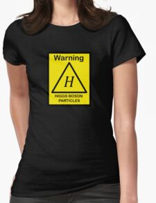 SCP Warning - Higgs Boson Particles Womens Fitted T-Shirt