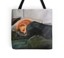 Dana Scully missing Fox Mulder Tote Bag