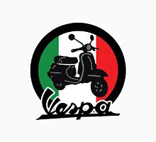 Vespa Italy Scooter Women's Fitted Scoop T-Shirt