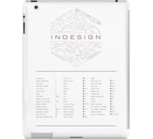 Keyboard Shortcuts for Adobe InDesign iPad Case/Skin