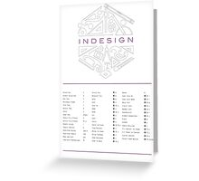 Keyboard Shortcuts for Adobe InDesign Greeting Card