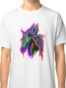 Psychedelic Horse Classic T-Shirt
