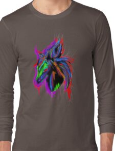 Psychedelic Horse Long Sleeve T-Shirt