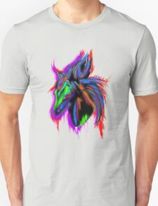 Psychedelic Horse Unisex T-Shirt