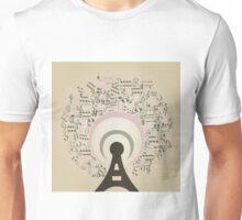 Musical radio Unisex T-Shirt