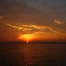 Sunset over Darwin by Silvia Solberg