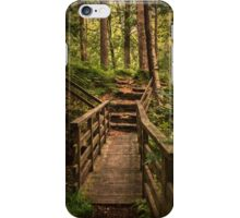 Woodland Bridge At Thirlmere iPhone Case/Skin