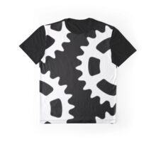 Cog and Roll (white) Graphic T-Shirt