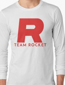Pokemon Team Rocket Long Sleeve T-Shirt