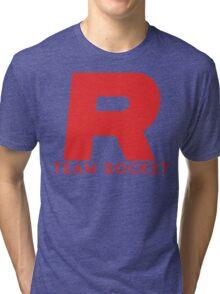 Pokemon Team Rocket Tri-blend T-Shirt
