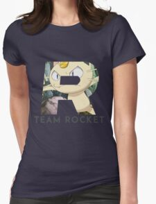Pokemon Team Rocket Womens Fitted T-Shirt
