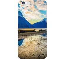 Milford Sound sunset iPhone Case/Skin