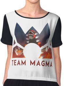 Pokemon Team Magma Chiffon Top