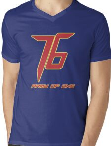 Soldier 76 Army Of One Mens V-Neck T-Shirt