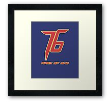 Soldier 76 Army Of One Framed Print