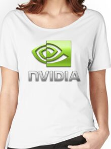 Nvidia Women's Relaxed Fit T-Shirt